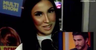 BBB20: Bianca Andrade dá pisão em Guilherme em programa de TV