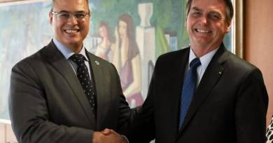 Coronavírus aumenta crise política entre Bolsonaro e Witzel