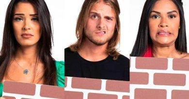 Enquete BBB: Daniel, Flay e Ivy estão no paredão. Vote em quem deve sair