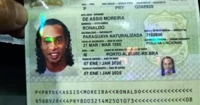 Ronaldinho Gaúcho é detido no Paraguai por uso de documento falso