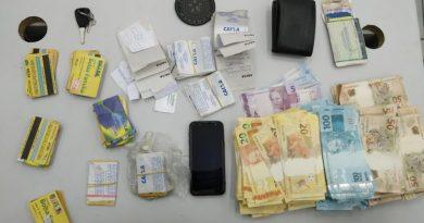 Polícia prende dupla com mais de R$ 96 mil reais em São Luís