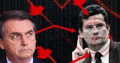 Após prestar depoimento na PF, Moro vira alvo de ataques de bolsonaristas
