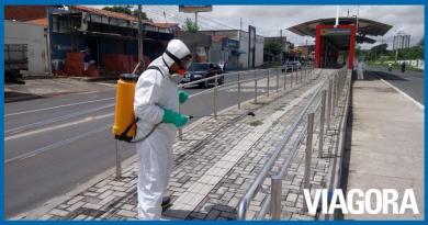 Cerca de três mil sanitizações foram realizadas em Teresina