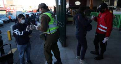 Chile registra maior número de casos e mortes por coronavírus em 24h