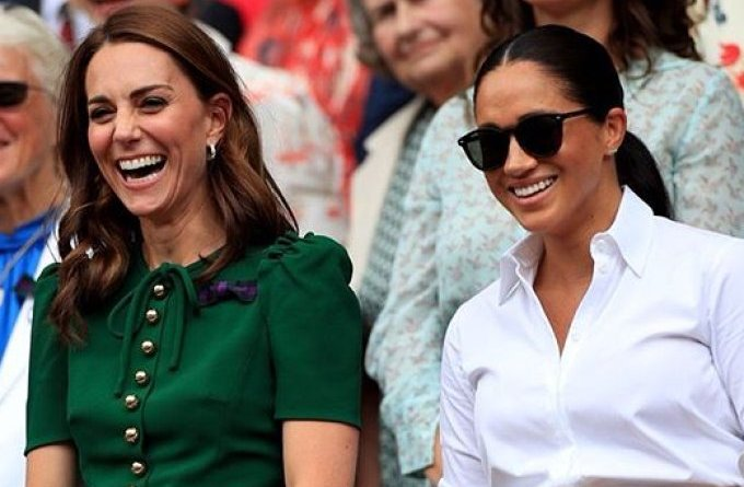 Revista conta razão peculiar da briga entre Kate Middleton e Meghan Markle