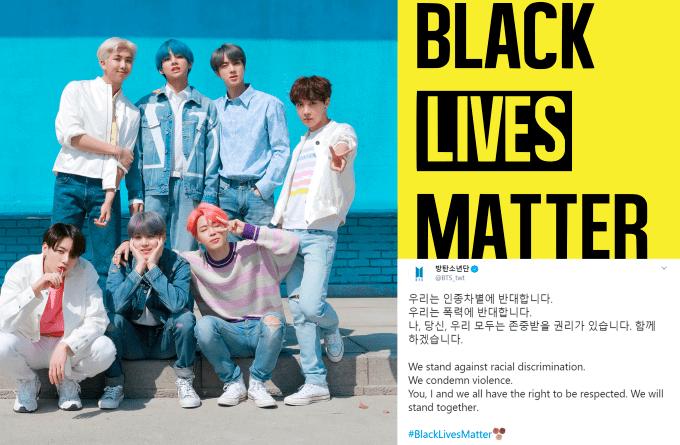 BTS e outros nomes do K pop se pronunciam sobre #BlackLivesMatter