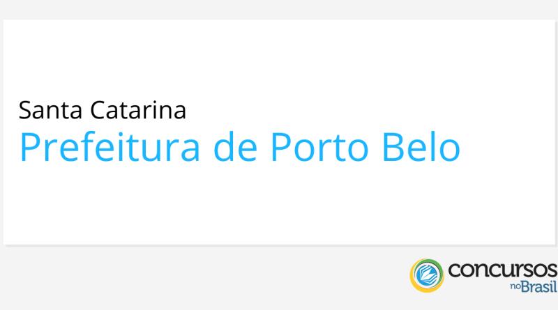 Concurso Prefeitura de Porto Belo   SC: Edital publicado