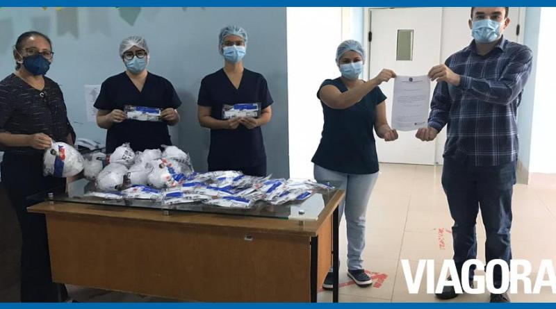 Covid 19: Coren PI doa 4 mil máscaras a unidades de saúde do Piauí