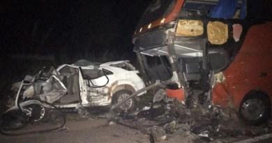 Filho do prefeito de Tuntum morre em acidente na BR-316