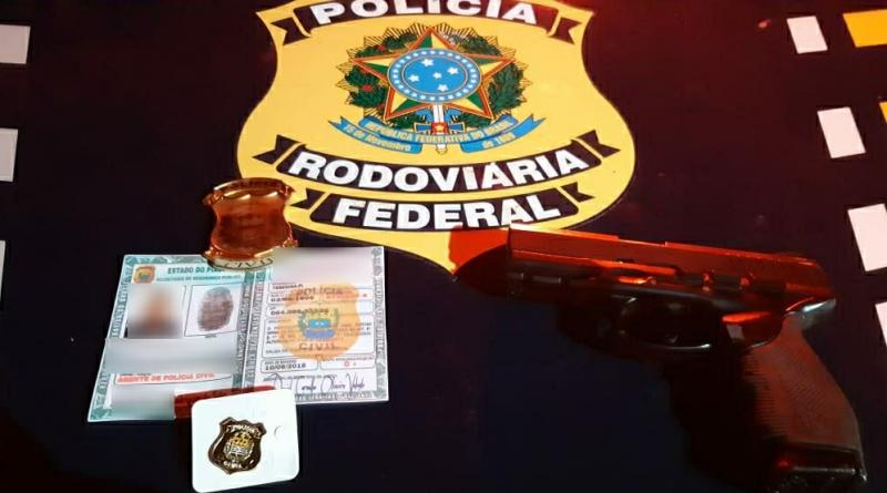 PRF prende falso policial durante operação Tamoio II em Piracuruca