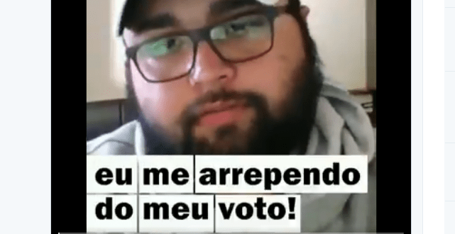 Quebrando o tabu faz vídeo com arrependidos de Bolsonaro, mas ninguém votaria no Haddad