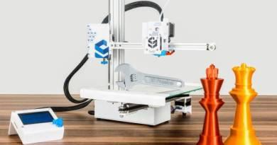 Venda de impressoras 3D cresce mesmo na crise