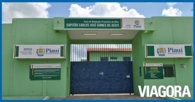 Detentos escapam de pavilhão da Cadeia Pública de Altos