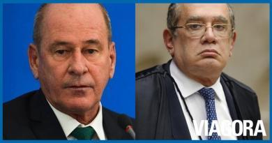 Ministro da Defesa diz que Gilmar Mendes é irresponsável e leviano
