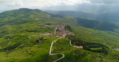 San Giovanni in Galdo sucesso turístico em Itália