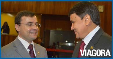 Wellington Dias elogia pré candidato Fábio Novo durante live