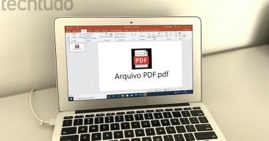 Como inserir um arquivo PDF em uma apresentação do PowerPoint