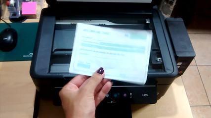 Como tirar cópia pela impressora Epson L355?