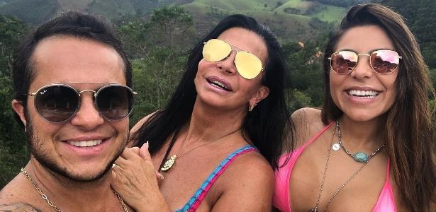 "Gretchen elogia a mulher de Thammy: ""Passou todo o processo junto dele"""