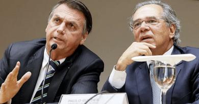 Bolsonaro diz estar 'profundamente irritado' com Paulo Guedes