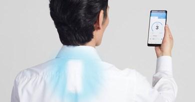 Sony lança ar condicionado vestível que fica preso na camisa