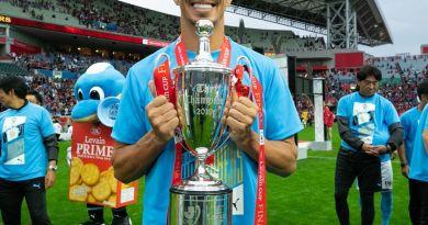 Leandro Damião conta sobre gol do título marcado na estreia e a vida no Japão