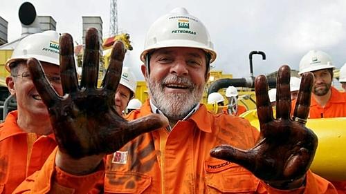 Lula participa de ato em defesa da Petrobrás após STF liberar venda de ativos