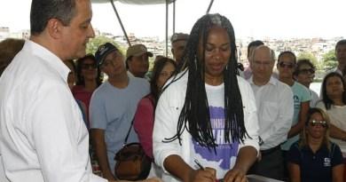 """Olívia destaca que a Ronda Maria da Penha que criou """"foi um marco"""" em defesa das mulheres"""