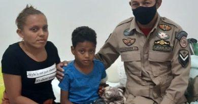Bombeiro salva criança eletrocutada durante a folga