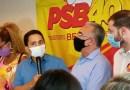 PSB realiza ato em apoio a Edmilson para prefeito de Belém