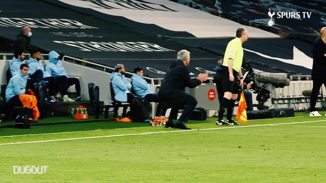 Reações de José Mourinho na vitória do Tottenham sobre o City