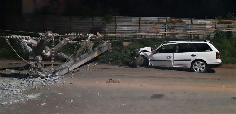 Reduz o número de acidentes com quebra de postes no Maranhão