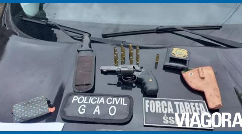 Empresário é preso em Teresina suspeito de atirar na cunhada em Altos
