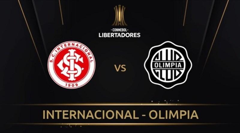 Internacional x Olimpia ao vivo: onde assistir ao jogo da Libertadores
