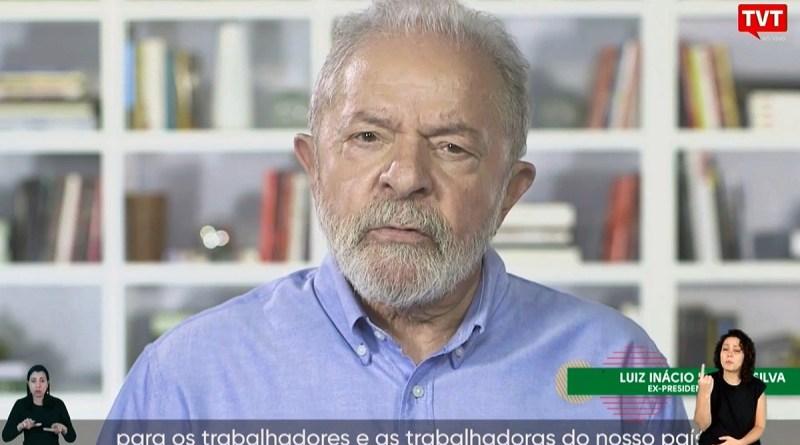 Lula no 1º de Maio: país vai superar devastação. Centrais pedem vacina, auxílio e impeachment