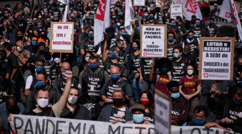 Metroviários de SP aceitam mediação do TRT e suspendem greve   Rede Brasil Atual