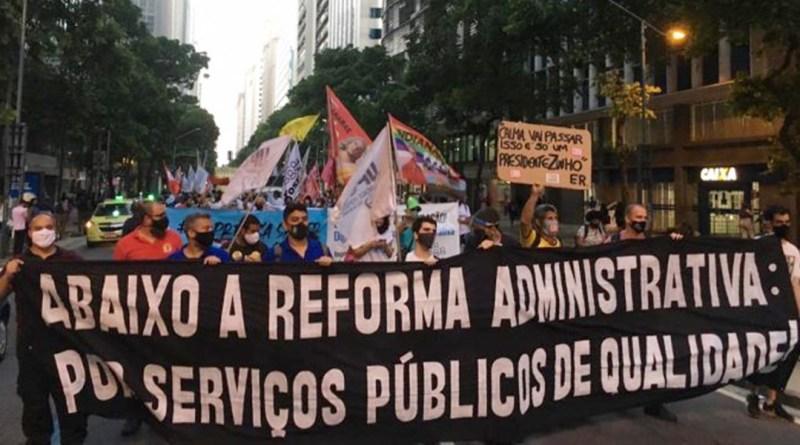 Em Manifesto à Nação, entidades convocam mobilização geral contra reforma administrativa   Hora do Povo