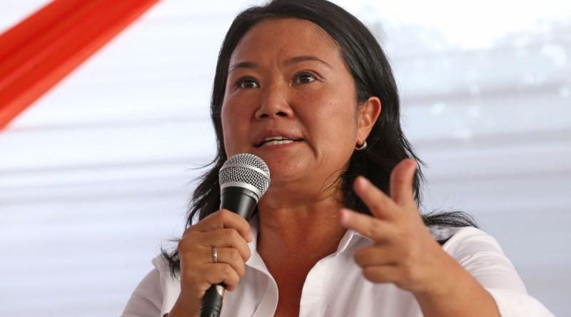 MP do Peru pede prisão de Keiko Fujimori por violar liberdade condicional