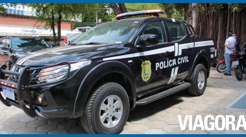 Polícia Civil prende suspeito de tentar matar mulher em Piripiri