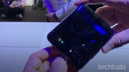 Confira o lançamento do Galaxy Z Flip