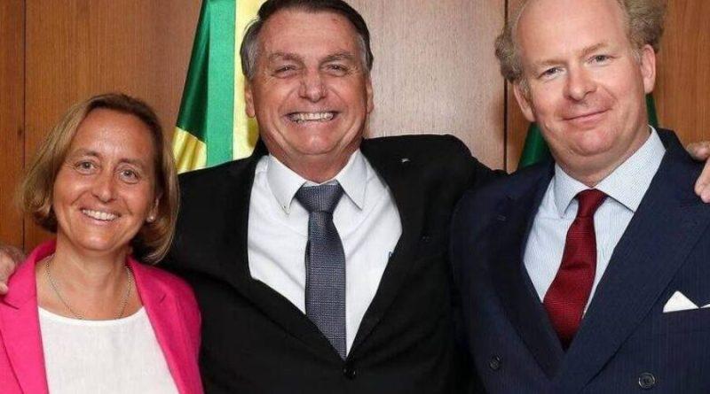 Fora da agenda, Bolsonaro recebeu vice líder da ultradireita da Alemanha