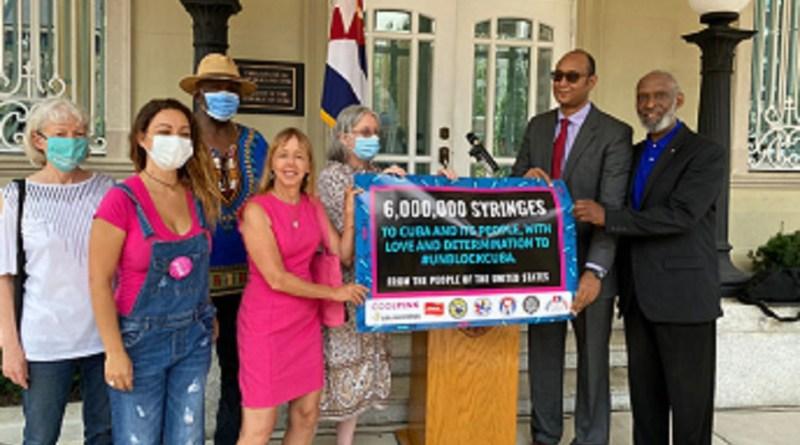 Solidários nos EUA já enviaram dois milhões de seringas para combater Covid em Cuba   Hora do Povo