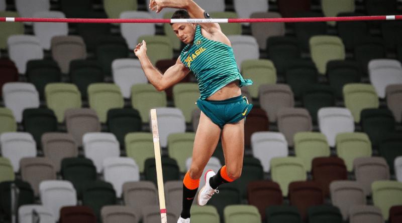 Com sua melhor marca do ano, Thiago Braz conquista bronze no salto com vara   Hora do Povo