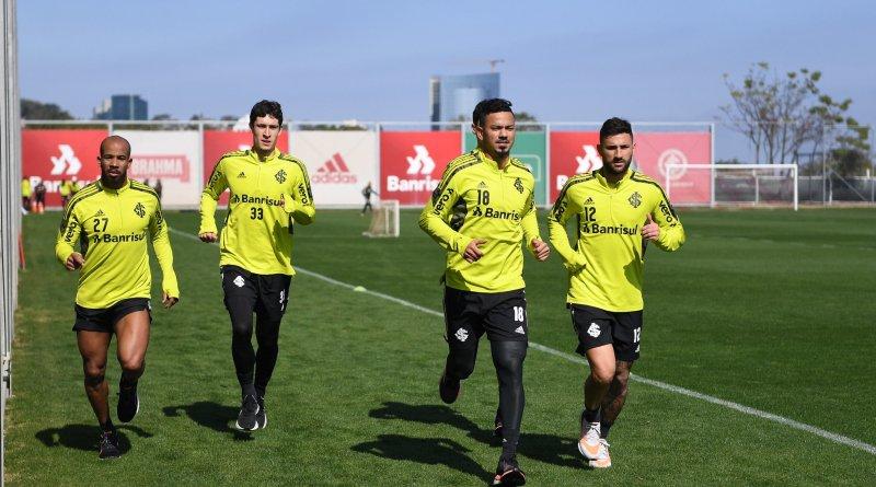 Com treino físico, Inter da sequência à preparação para encarar o Flamengo