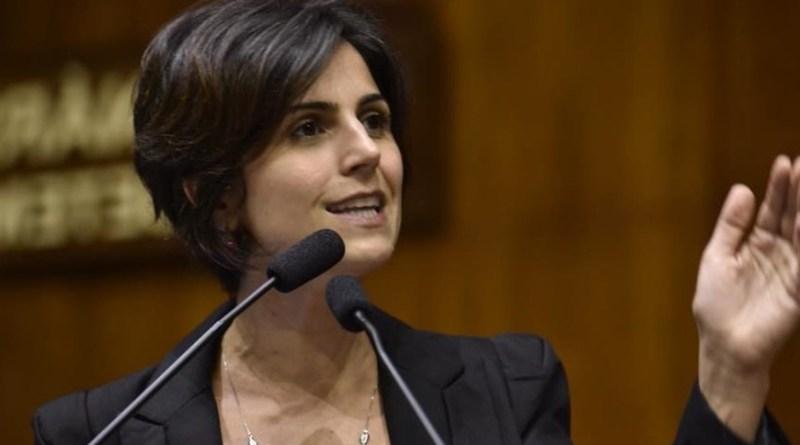 'Correios são lucrativos e têm papel fundamental na soberania nacional', diz Manuela d'Ávila   Hora do Povo