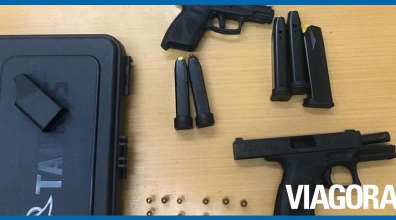 Polícia Federal apreende revólver e pistolas em operação em Teresina
