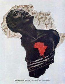 """""""Ele levou a África no coração! Lubumba!"""""""