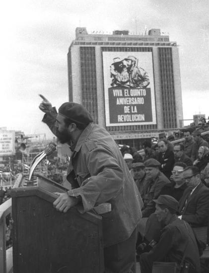 Discurso por ocasião do aniversário da Revolução Cubana, em 1964.