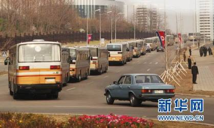 Porque o trânsito na Coreia é tão bom? Simples, na Coreia socialista existem mais veículos de transporte público do que 'carros de passeio'.