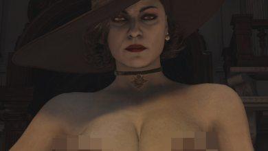 Мод На Голую Леди Димитреску С Огромной Грудью для Resident Evil Village